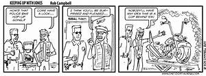Jones Comic Strip  Cop Chopper