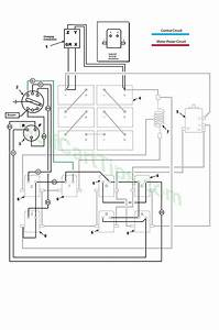 Ezgo Wiring Diagrams Model 300 Late 1950 U0026 39 S