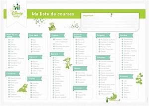 Liste De Courses À Imprimer Gratuitement : les 12 listes de courses pr tes imprimer mod les pdf ~ Nature-et-papiers.com Idées de Décoration