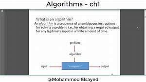 The, Design, And, Analysis, Of, Algorithms, -, Chapter, 1, -, Part, 1