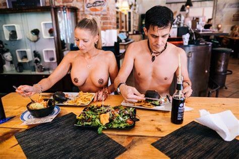 Nudist Club Restaurant Stripping