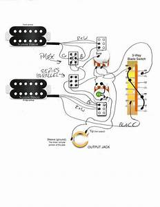 Seymour Duncan Two Humbucker Wiring Diagram