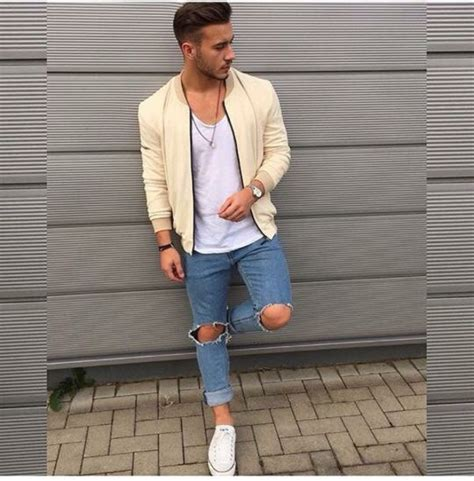 Coat outfit jacket jeans boy guys tumblr outfit - Wheretoget