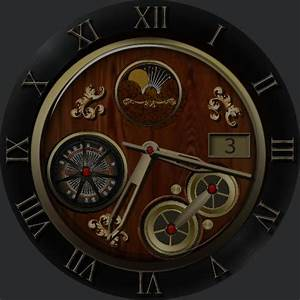Wood Face  U2013 Watchfaces For Smart Watches