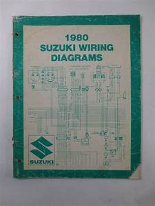 1980 Suzuki Wiring Diagrams Manual Fa50t Or50t Ts125t