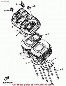 Yamaha Et300h Enticer 1984 Cylinder