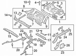 Ford Mustang Bumper Impact Bar Bracket  Convertible  Coupe