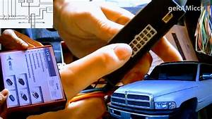 How To Install Keyless Contactless Entry Dodge Ram