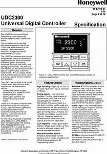 Honeywell Udc2300 User Manual To The 6739d5f4 D059 47ac