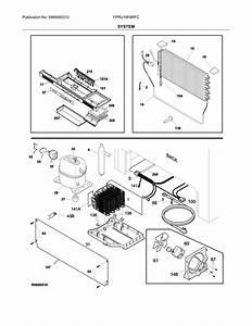 Frigidaire Fpru19f8rfc Refrigerator Parts