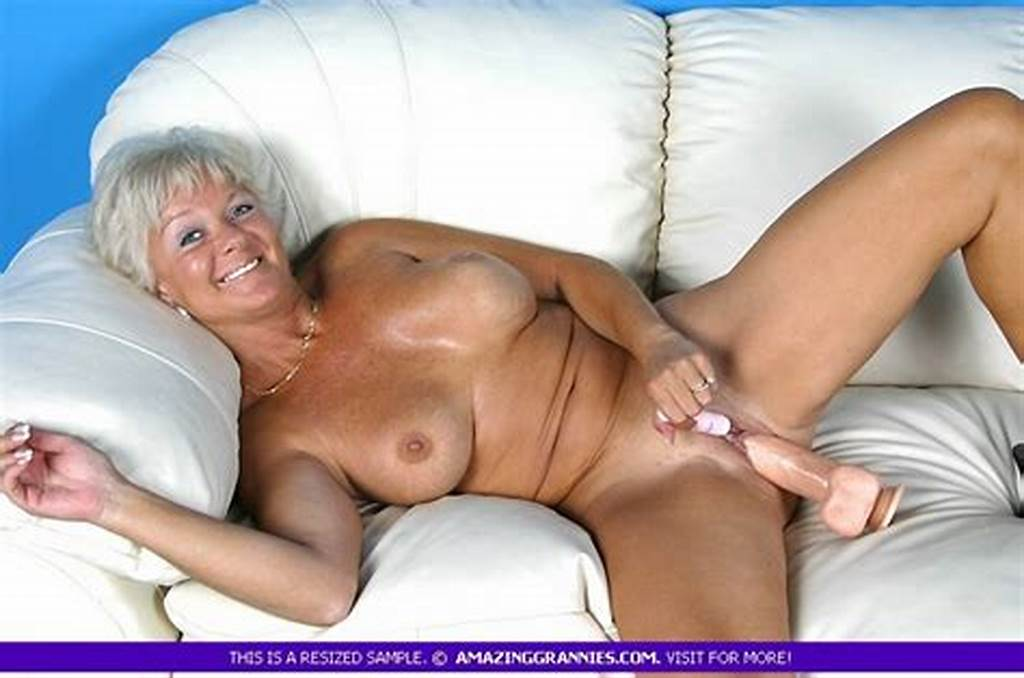 #Hot #Granny #Bares #Her #Luscious #Breasts #And #F