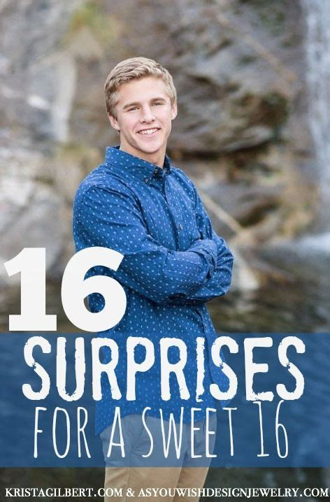 Tips for decorating baby's first birthday cake. 16 Surprises for a 16th Birthday - Krista Gilbert   Boy 16th birthday, Happy 16th birthday, 16th ...