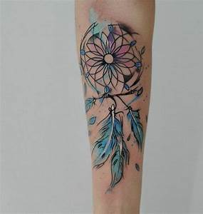 Tatouage Attrape Reve : tatouage femme avant bras attrape reve tuer auf ~ Carolinahurricanesstore.com Idées de Décoration