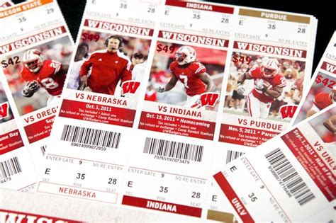 Look Badger Football Ticket Prices  Pictures