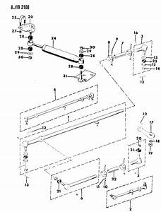 1989 Jeep Grand Wagoneer Linkage  U0026 Damper