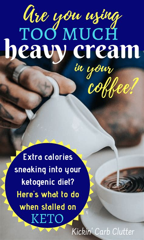 Using up leftover heavy cream. Are You Using Too Much Heavy Cream in Your Coffee?
