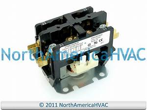Oem Carrier Bryant Tempstar Contactor Relay 2 Pole 30 Amp Hn52pc022 3100e20q628