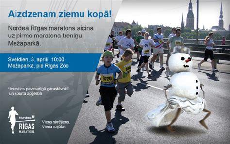 Mežaparkā sāksies gatavošanās Nordea Rīgas maratonam ...
