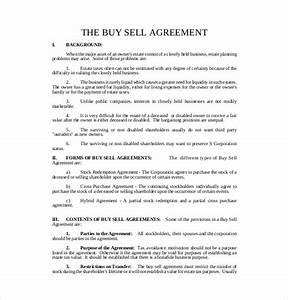 shareholder buyout agreement template shareholder buy sell With shareholder buyout agreement template