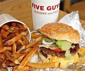 Five Guys, Kingston upon Thames The Rotunda Clarence St