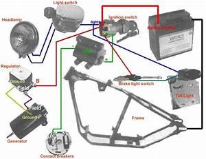 Wiring Diagram  Shovel Kickstart