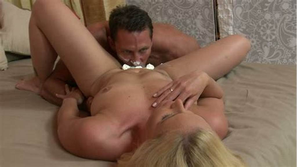#Bushzilla'S #Boyfriends #Eats #Her #Pussy #With #Whipped #Cream