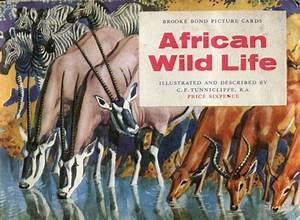 African Wild Life Tea Cards Full Set Of Collectable By