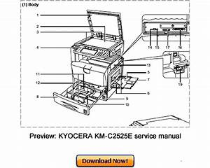Free Kyocera Km1525 1530 2030 Full Service Manual Download