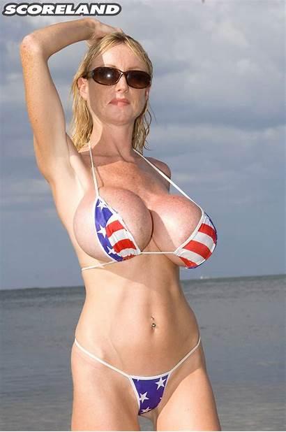 Morgan Leigh Tits Boobs Scoreland Bikini Hump