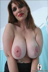 Big tit mature british lezbians