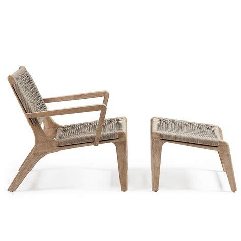 pied de chaise dans la chatte fauteuil de jardin avec repose pied en bois basneti by drawer