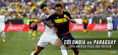 Argentina vs colombia copa america brasil 2019 partido completo hd. Colombia vs Paraguay 2016 Copa America Group A Predictions