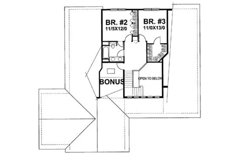 Bungalow Style House Plan 3 Beds 2 5 Baths 2281 Sq/Ft