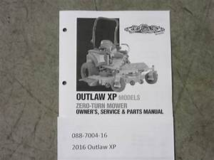 088-7004-16 - 2016 Outlaw Xp Owner U0026 39 S Manual