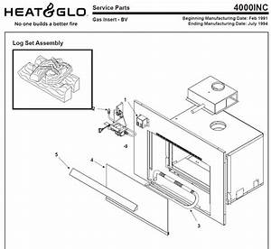 Heat N Glo 4000inc Fireplace Parts Diagram