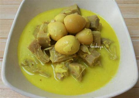 Sayuran berbahan labu kuning juga memiliki banyak manfaat bagi tubuh. Resep Sayur Nangka Bumbu Kuning oleh Farah Ayu - Cookpad