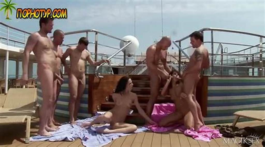 #Beautiful #Anal #Orgy #On #The #Deck #Of #A #Large #Cruise #Liner