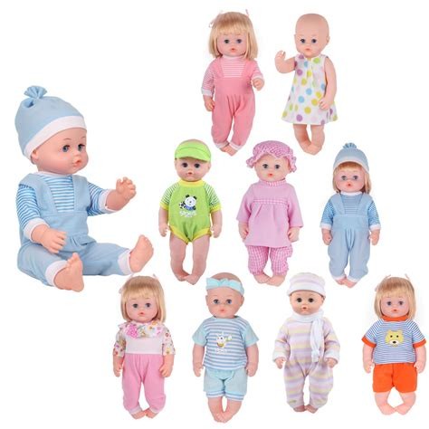 Young Buds 9 Sets for 14 15 Inch Alive Baby Doll and 18