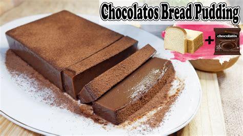 Lalu, kamu bisa masukkan roti tawar, pisang, serta meisis, dan aduklah sampai merata. Resep Puding Roti Tawar Chocolatos : Chocolatos Super ...