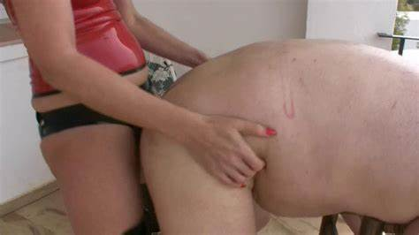 Pornstar Pegging His Hole Dildo Humiliation femdomfilms