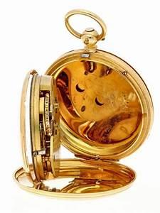 Pocket Watch Gold  Verge Anchor Escapement  U0026 39 Annie