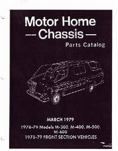 Oem Parts Book Dodge Truck Class A Motorhome Chassis 1978