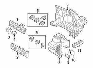 Volkswagen Passat Fuse Box  Compartment  Passenger  Wagon