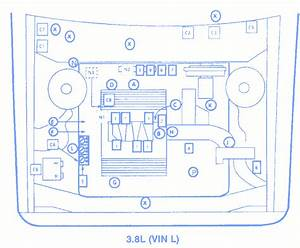 Buick Century 1995 Fuse Box  Block Circuit Breaker Diagram