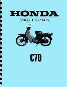 Honda C70 Passport Motorcycle Wiring Harnes Diagrahm