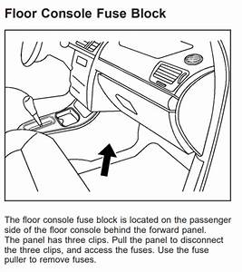 Chevy Cobalt 2004-2010 Fuse Box Diagram