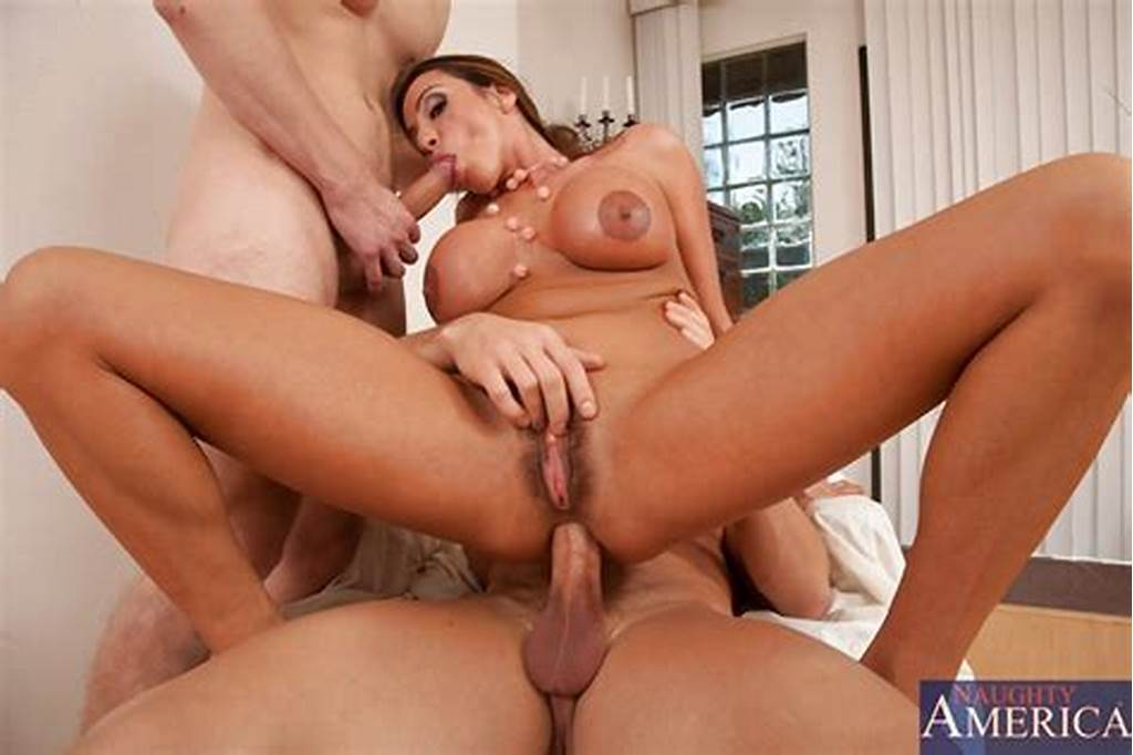 #Stunning #Cougar #Gets #Deep #Double #Penetration