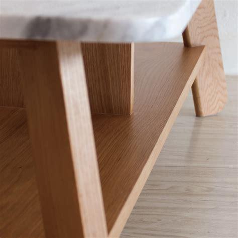 โต๊ะกลางหินอ่อน - Polar Coffee Table - Mahasamut