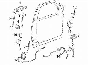Chevrolet Silverado 1500 Door Wiring Harness  W  O Power