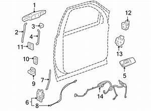 Chevrolet Silverado 1500 Door Wiring Harness  W  O Power